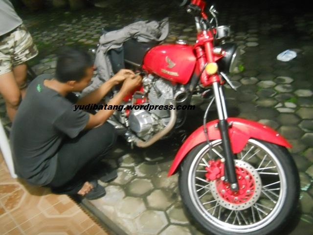 Honda CB modif 200cc