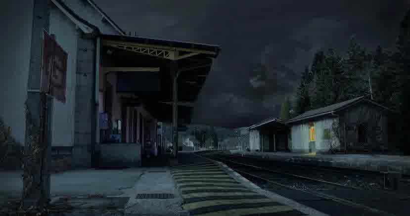 Stasiun berhantu