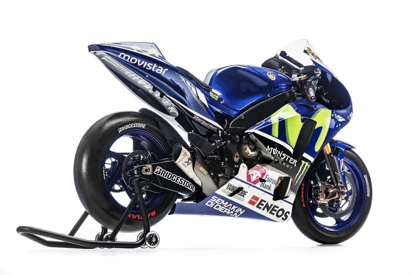 Yamaha M1 2015 exedy