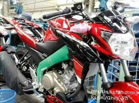 Yamaha New Vixion face lidt 2015