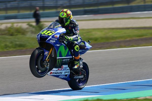 Rossi FP2 Assen 1