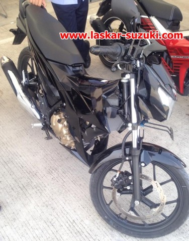 All New Suzuki Satria Fu Fi beradiator