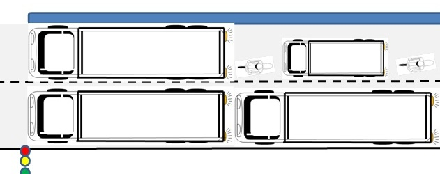 ilustrasi truk subah