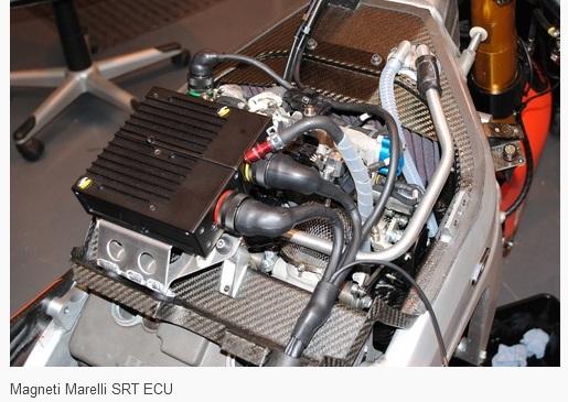 ECU motor motogp