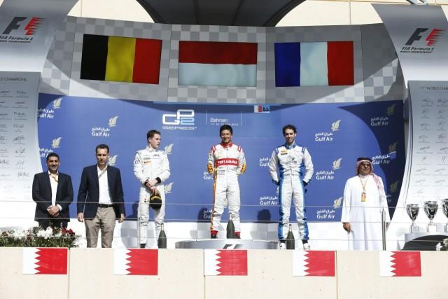 RIO haryanto juara GP2 Bahrain