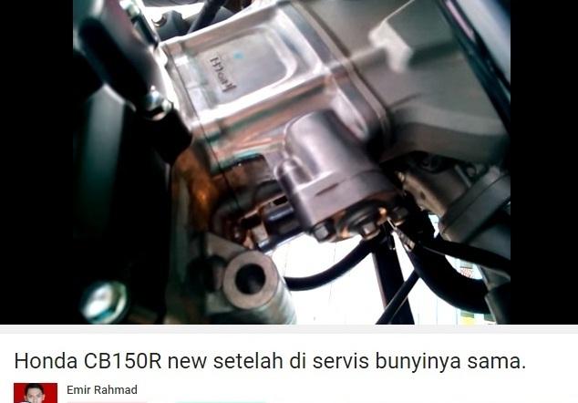 suara klothok-klotok Honda CB150R 2016 7