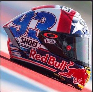 Helm Marquez Motogp Austin 2016 3