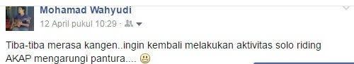 status facebook yudibatang