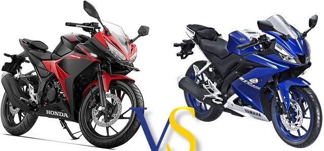 All New Yamaha R15 VS All New Honda CBR150R Gantengan