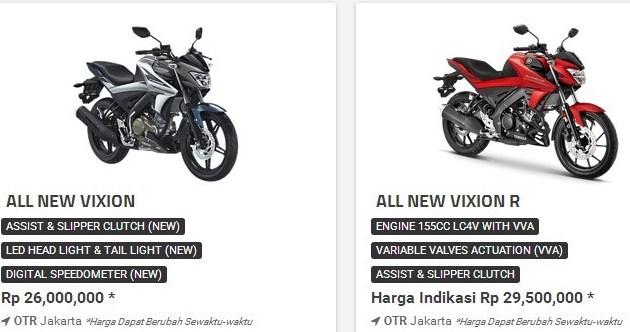 Duss! Harga Yamaha Vixion R lebih mahal dari Suzuki GSX-R150 ... on