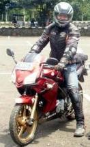 Halo brother biker