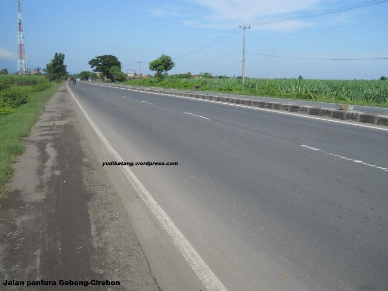 jalan pantura Gebang-Cirebon