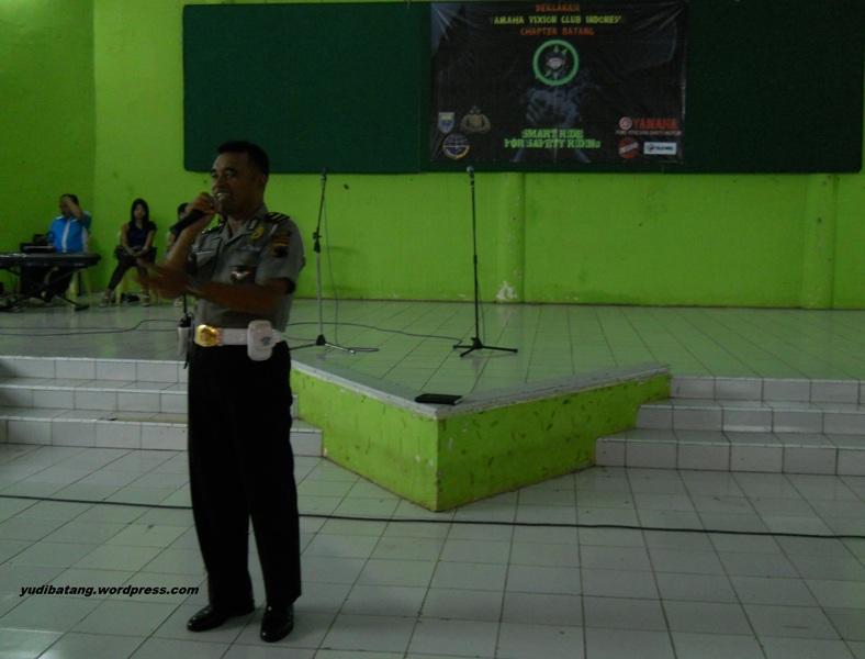 Kanit Lantas Polres Batang Jawa Tengah Bapak Sutrisno