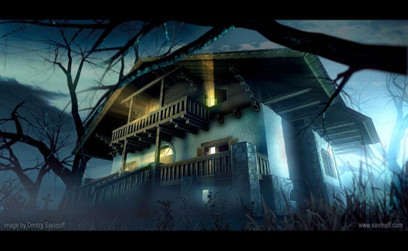 penunggu rumah angker