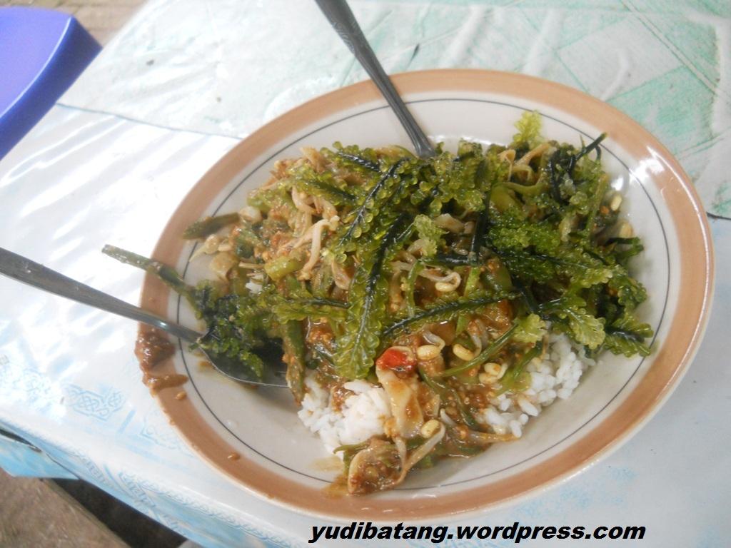 Riding Kuliner Pecel Rumput Laut Khas Jepara Yudibatang Com