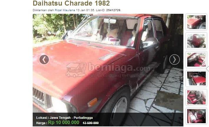 charade 82 dijual