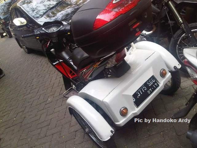 Honda Supra X 125 roda 3 1