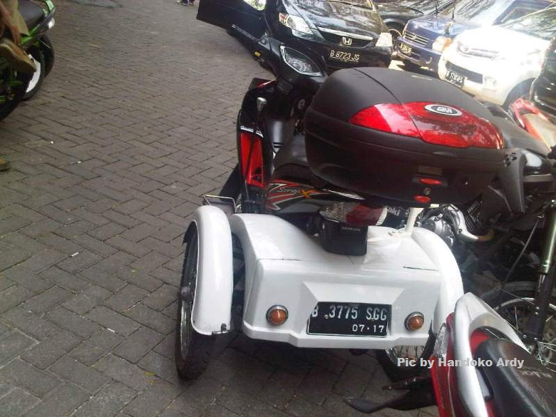Honda suprax 125 roda 3 1