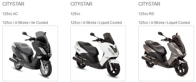 peugeot scooter Citystar