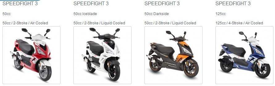 peugeot scooter speedfight 3