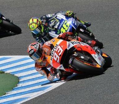 1 Rossi VS Marquez Jerez 2014