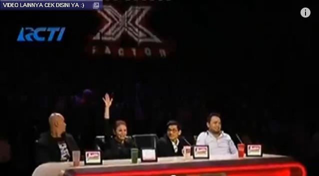 audisi x factor 2015 Rossa