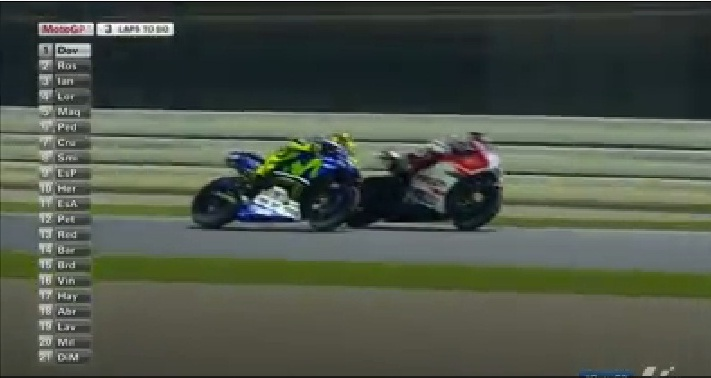 Rossi vs Dovi qatar 1