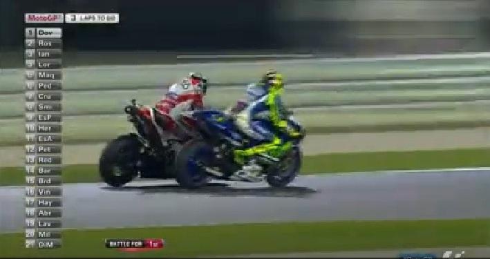 Rossi vs Dovi qatar 2