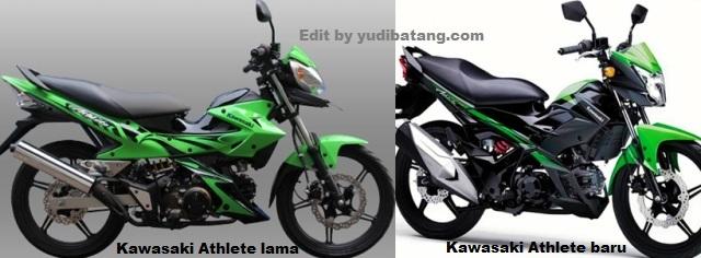 Kawasaki Atlhet lama dan Baru