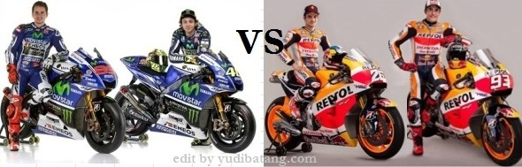 Movistar Yamaha VS Repsol Honda 1
