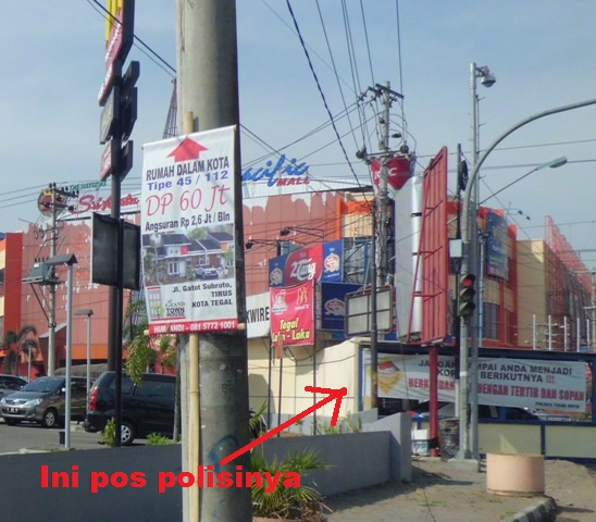 pos polisi pacific mall Tegal