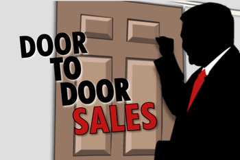 sales door to door