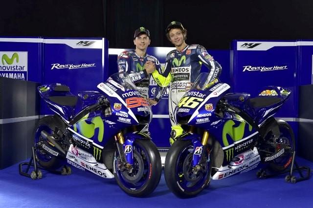 Movistar Yamaha Lorenzo dan Rossi 2015