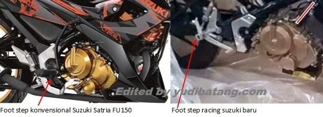 foot step sport fairing baru Suzuki