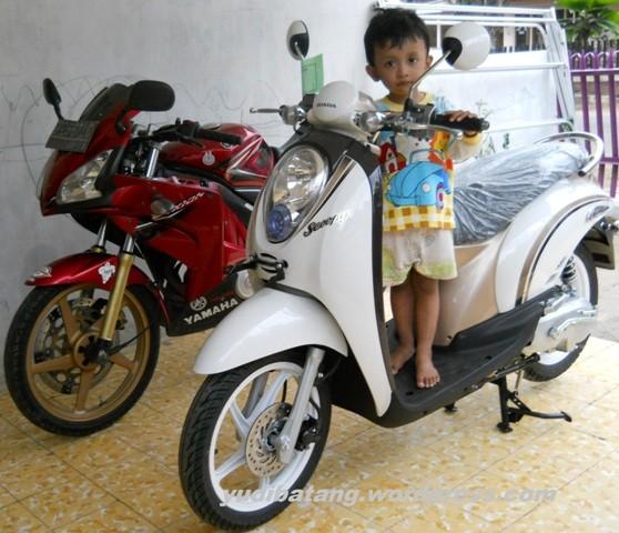 Honda scoopy yudibatang 1