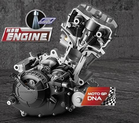 mesin honda new sonic 150r 1