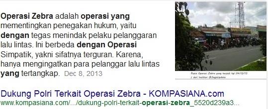 operasi zebra