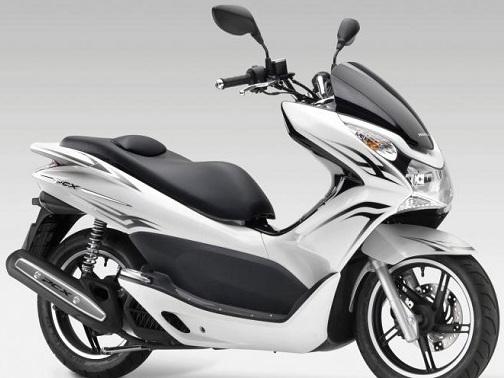 honda-pcx-150 putih