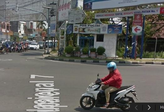 pos polisi jalan tuparev Cirebon