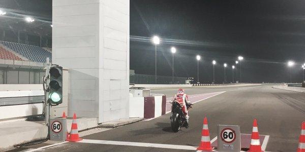 Casey stoner test Qatar 2016 1