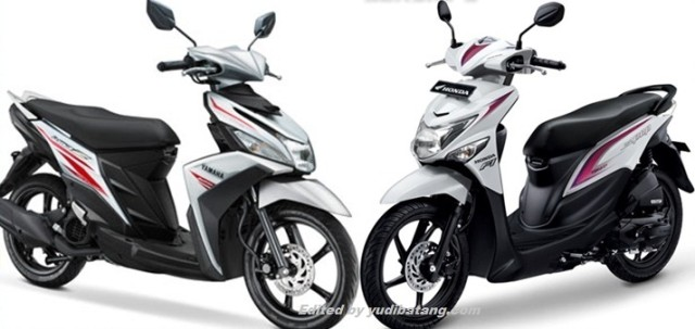 Yamaha Mio Z vs Honda Beat Pop
