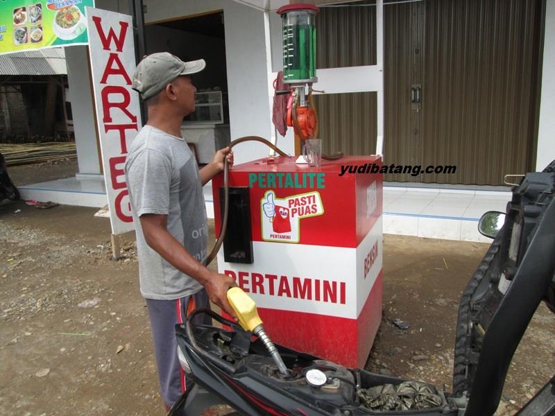 pom bensin pertamini