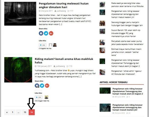artikel horor