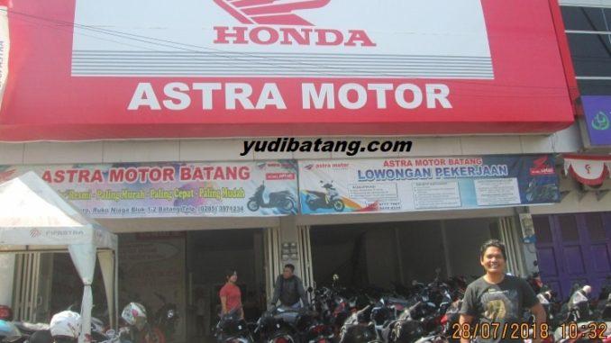 Harga motor matik honda di Batang