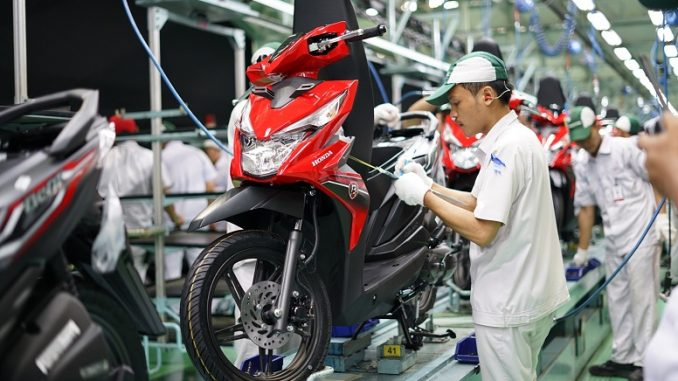 Ekspor Sepeda Motor Honda