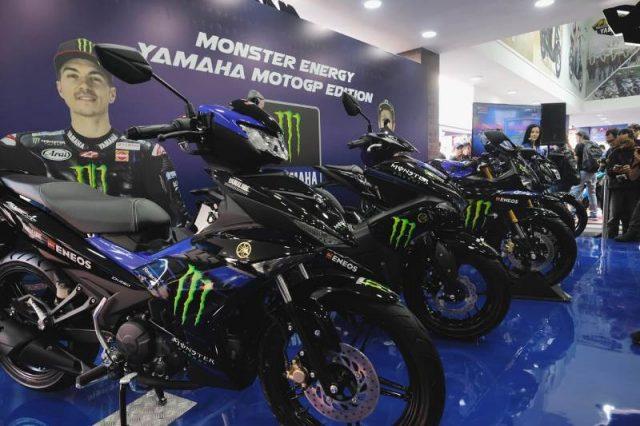 motor yamaha bercorak monster