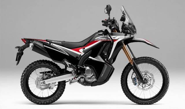 New honda CRF250Rally