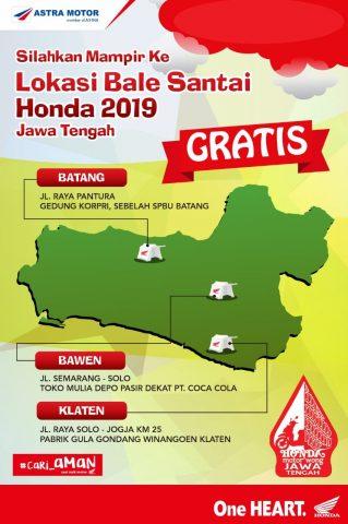 Bale santai Honda Jateng 2019