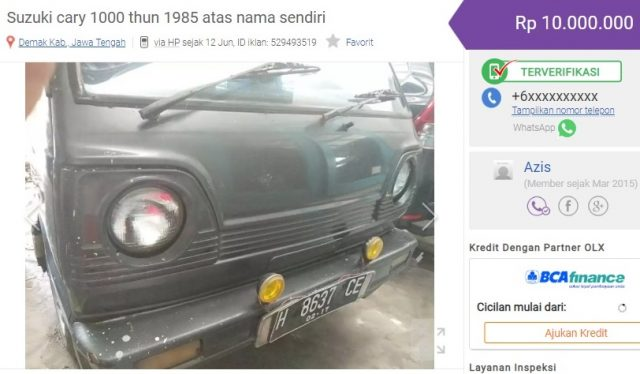 harga mobil tua murah