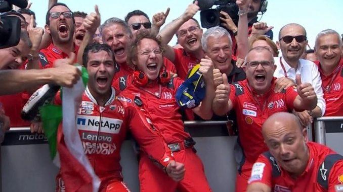 pemenang motogp mugello 2019